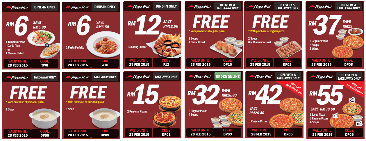 coupon code for free wings at pizza hut